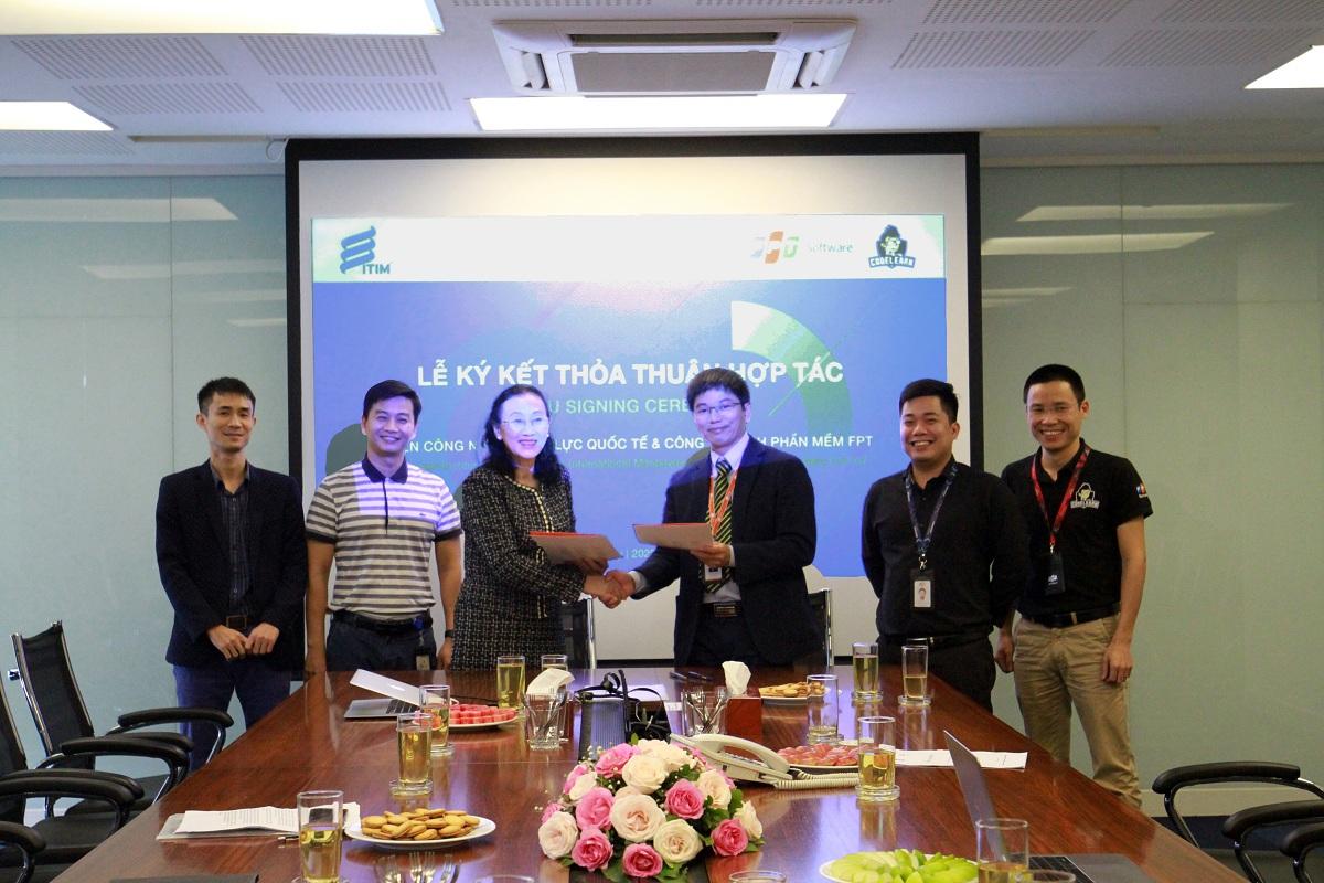 ITIM gặp mặt, trao đổi và ký kết hợp tác với FPT Software