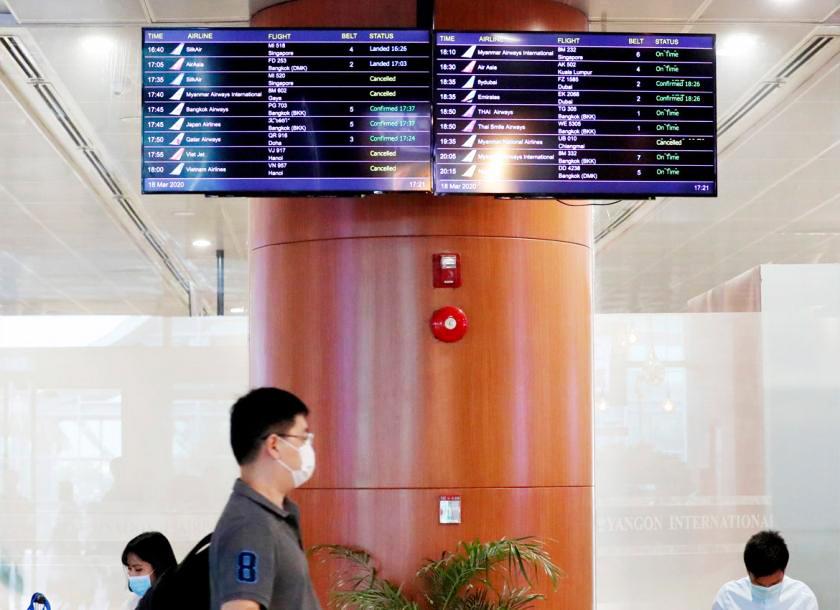 Myanmar thắt chặt các chuyến bay quốc tế - Ảnh: EPA/The Myanmar Times